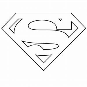 Superman template save the two templates the s is red for Superman logo template for cake