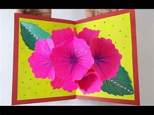 Pop Up Greeting Card Making Ideas Amazing DIY Handmade