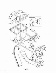 Craftsman Two Bin Bagger Parts