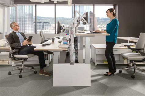 standing office desk join the brave new office trend with standing desks tangram