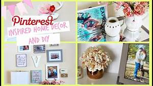 Pinterest Decoration : pinterest inspired home decor diy and huge announcement youtube ~ Melissatoandfro.com Idées de Décoration