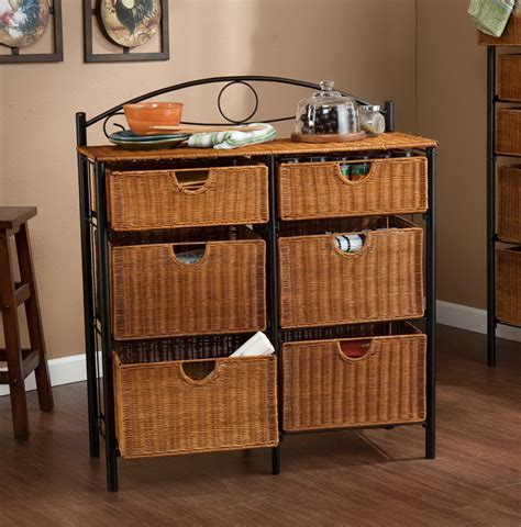 Wicker Basket Drawer Organizer   Home Design Ideas