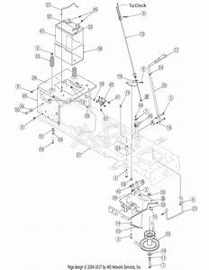 Troy Bilt 13ax60tg766 Super Bronco  2006  Parts Diagram For Pto