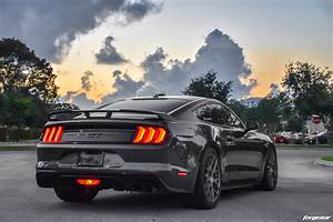 Ford Mustang GT S550 - Forgestar M7S Wheels in Gunmetal