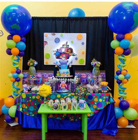 Boov Party Theme Dreamworks Home  Boov Birthday