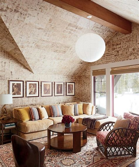 distressed rustic living room design ideas  inspire