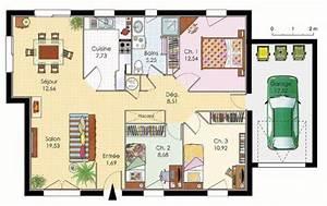 maison premier prix detail du plan de maison premier With faire plan de sa maison 2 maison pour primo accedants detail du plan de maison