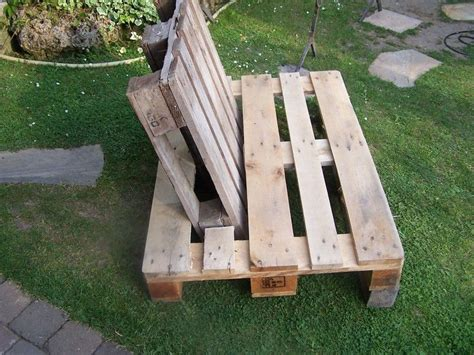 Palettenmöbel Garten Lounge by 5 Min Diy Lounge Sessel Aus Paletten Garten