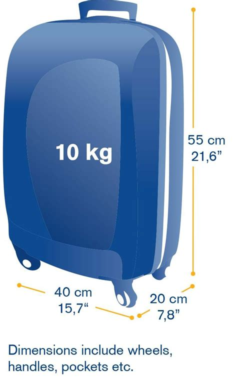 hand luggage dimensions travel   hand luggage