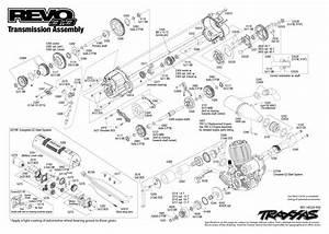 Revo 3 3  53097  Transmission Assembly