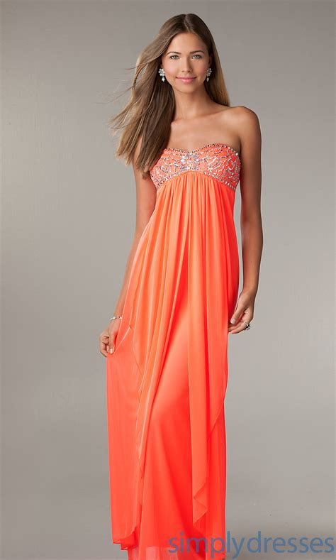 prom hair for strapless dress cute long strapless prom