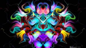 Creature, Colorful, Pattern, 4k, Hd, Abstract, Wallpapers