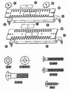 Templates Diagram  U0026 Parts List For Model 17125450 Craftsman