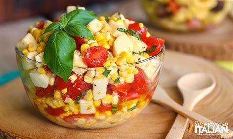 fresh healthy summer salad recipes