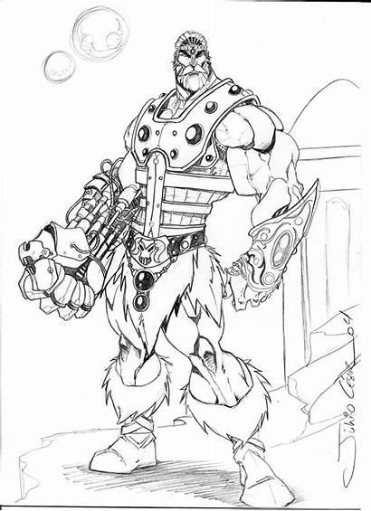 He Fisto Deviantart Universe Wolf Character Line