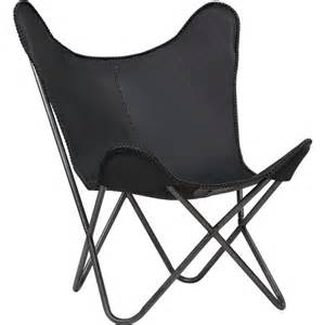 Vivere Cb Original Chair by 1938 Black Leather Butterfly Chair Cb2