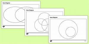 Venn Diagram Templates Pack