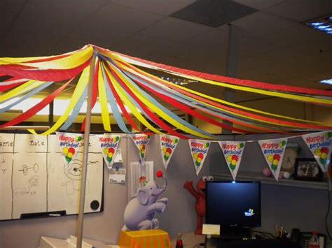 big top circus theme cubicle decorating cubicle