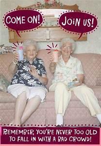 Bad Old Ladies Funny Birthday Card - Greeting Cards - Hallmark