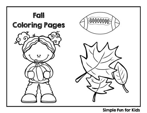 fall coloring pages simple for 538 | fall coloring pages printable title