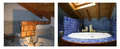 ristrutturazione vasca da bagno ristrutturazione e arredo attico un bagno in mansarda