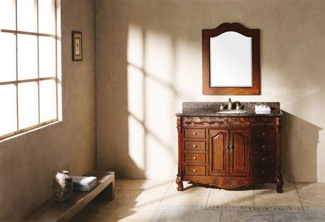To purchase the chelsea 48 inch bath vanity with white quarts marble top by simpli home, you have to spend only $764.99. 48 Inch Single Sink Bathroom Vanity with Dovetailed ...