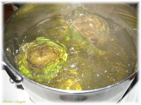 cuisine artichaut velouté de haddock et d 39 artichaut lilizen cuisine