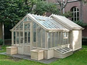 Fabriquer Une Serre En Bois : fabrication de serre de jardin en bois carpentras 84 ~ Melissatoandfro.com Idées de Décoration