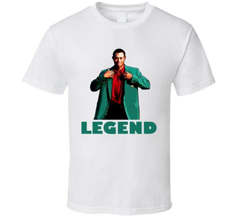 tiger woods golfer athlete legend t shirt