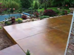 Baroque Stained Concrete Patio fashion Philadelphia Traditional Patio Decoration ideas with