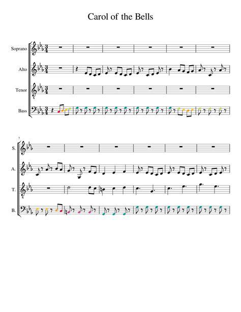Free pdf download of carol of the bells piano sheet music by christmas. Carol of the Bells Sheet music for Piano | Download free in PDF or MIDI | Musescore.com