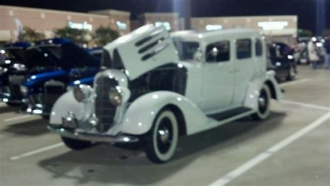 1933 Oldsmobile Touring Car With Suicide Doors Original