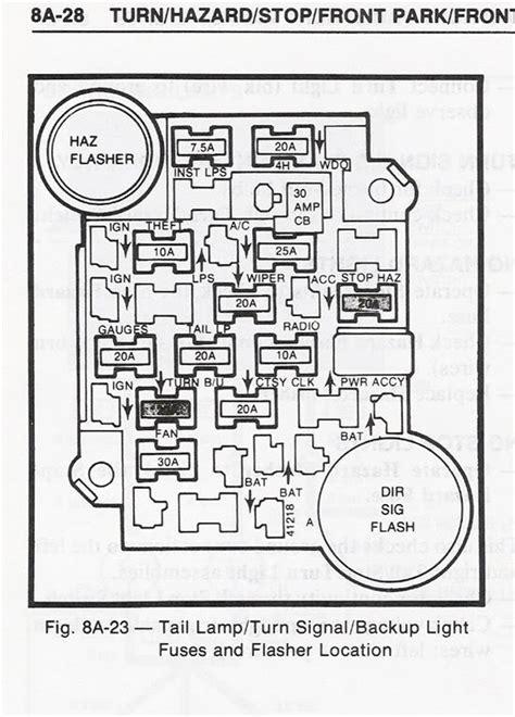 1981 Gmc Fuse Box Diagram by 80 Gmc Fuse Box Wiring Diagram