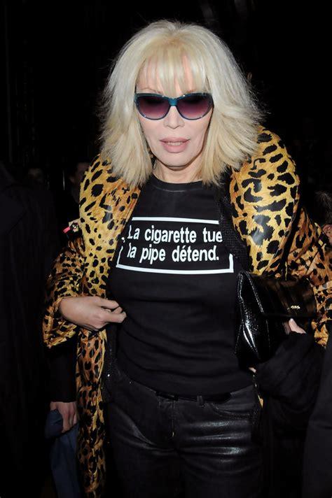 amanda lear amanda lear  paris fashion week