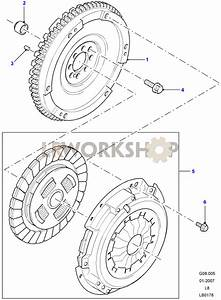 Clutch And Flywheel - 2 4 Tdci