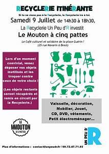 Le Mouton A 5 Pattes : recyclerie un peu d 39 r entre solidarit et d veloppement ~ Louise-bijoux.com Idées de Décoration