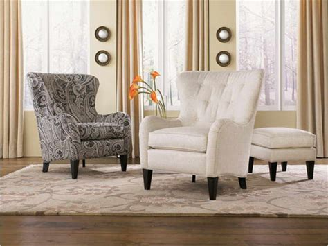 living room living room accent chairs  beige curtain