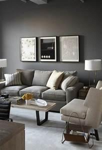 carrelage grise mur taupe With association de couleur pour salon