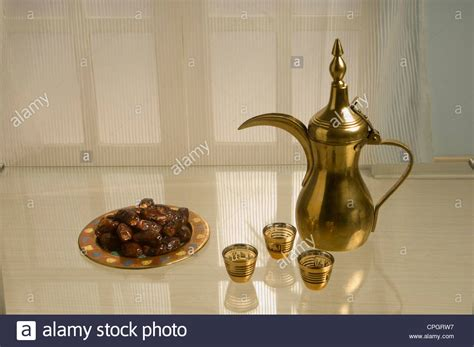 Arabic Coffee With Dates Stock Photo Barista Coffee Training Images Hyderabad Day Varanasi Traditional Oval Tables Large French Video Northern Ireland