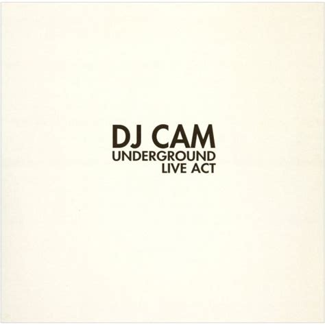 Dj Cam  Underground Live Act [inflammable Records