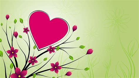 Free 1920x1080 Romantic Rose Heart Design Love Wallpapers