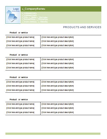 statement  work template  sow examples