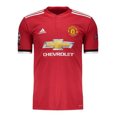 Welcome to the official manchester. Adidas Manchester United Home 2018 UCL Jersey