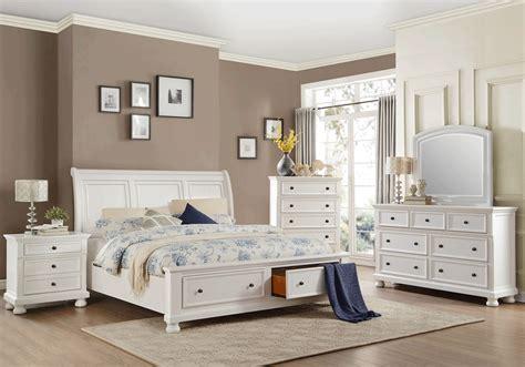 laurelin white queen storage bedroom set louisville