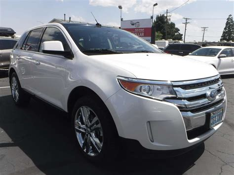 ford edge limited  sale  owner  private
