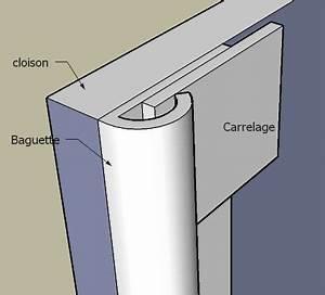Angle Carrelage Sans Baguette : finition cloison carreaux de platre forum isolation cloisons plafonds syst me d ~ Farleysfitness.com Idées de Décoration