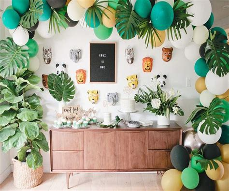 jungle baby shower theme decorations gender neutral vcdiy