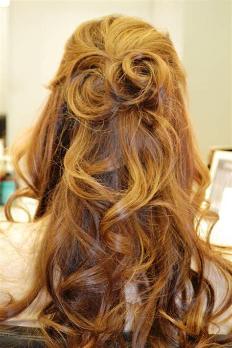 Half Updo Hairstyles Tutorial by S Day Half Updo Hair Tutorial Popsugar