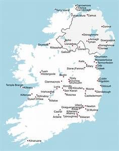 Ireland Map Kells