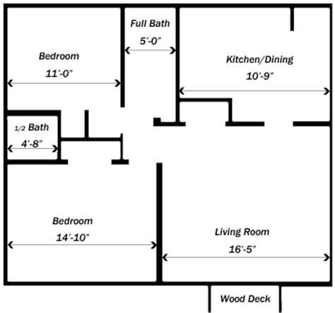 Bedroom Blueprint Activity by Apartments In Decatur Il 2 Bedroom Apartments G R